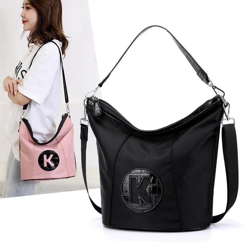 2020 New women's Shoulder Bag Waterproof Nylon Handbags Top-handle Travel Messenger Bags high quality Female Tote Crossbody bag
