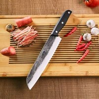 hand forged duck knife high carbon steel roast duck knife butcher chef knife sharp slicing knife kitchen tang knife