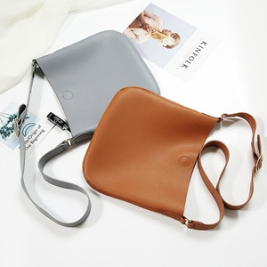 L'OMBRE PU Leather Composite Crossbody Bags Multiple Colors  Letters Cумка Hasp Shoulder Hobo Good Quality Messengers