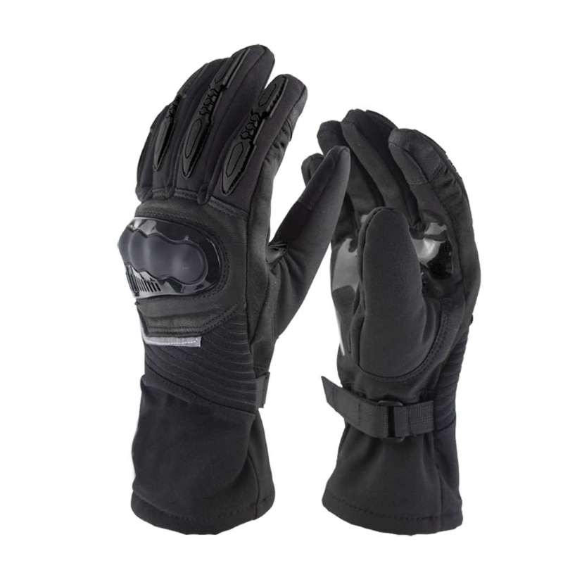 100% Waterproof Winter Anti-drop Lengthen Thicken Cycling Gloves Outdoor Sport Ski Gloves For Bike Bicycle Scooter Moto