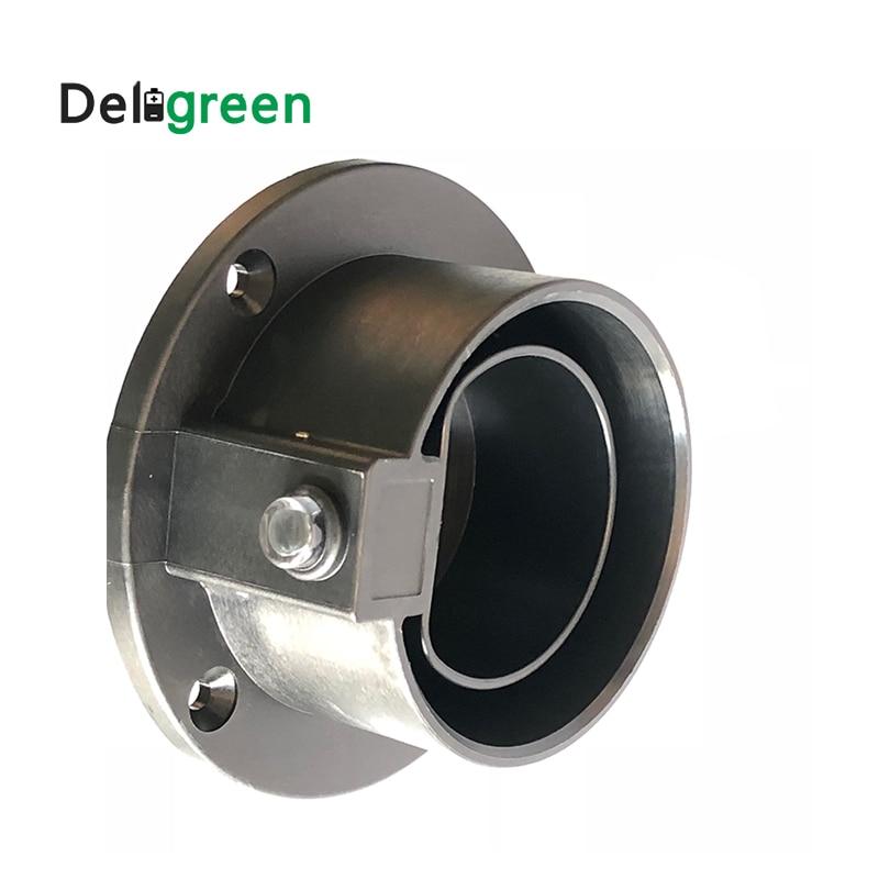 20pcs Type2 AC Dummy Socket Holder EV Charger Station Accessories IEC 62196-2 Duosida EV Plug Holder For Electric Vehicle