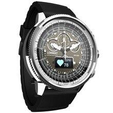 MOKA Bluetooth Smart Watch Men Women Fitness Tracker Blood Pressure Heart Rate Monitor Bracelet BT P
