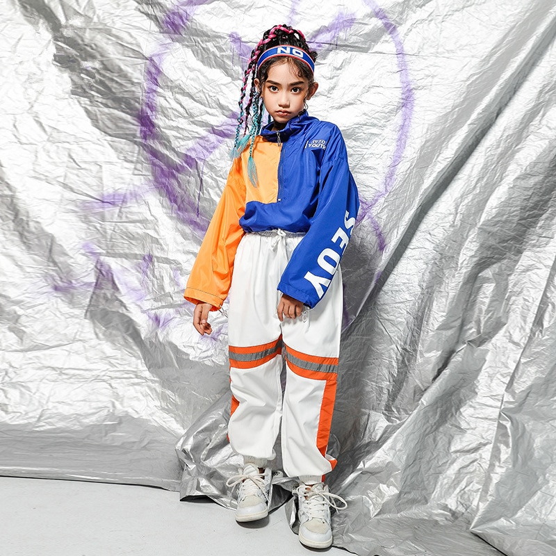 Ropa de hip-hop párr niño abrigo y pantalones cortos de manga larga...