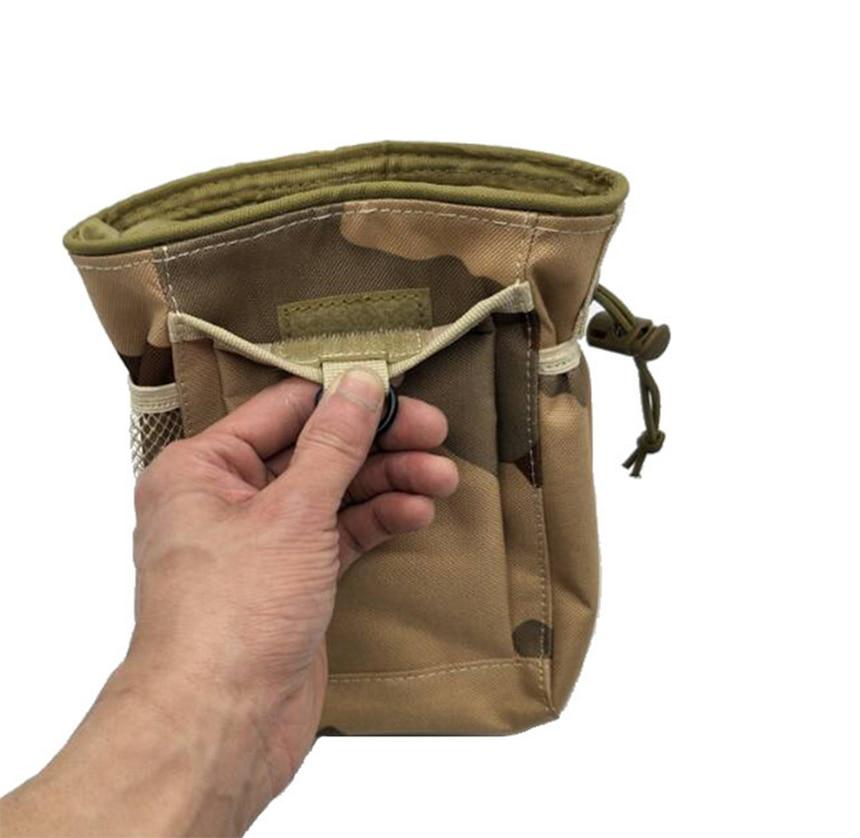 Bolsa de la revista de volteo táctico Molle bolsa de recuperación impermeable Airsoft accesorios militares bolsa de reciclaje de Combate de Asalto