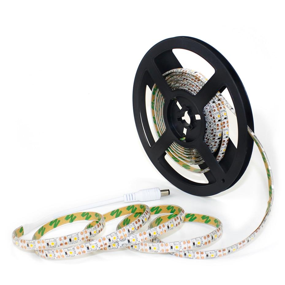 SMD2835 USB Led Light Strip with Motion Sensor 5V Flexible Waterproof Bande Led Strip Tape Lamp 1m/2m/3m Led Tira for TV Lights
