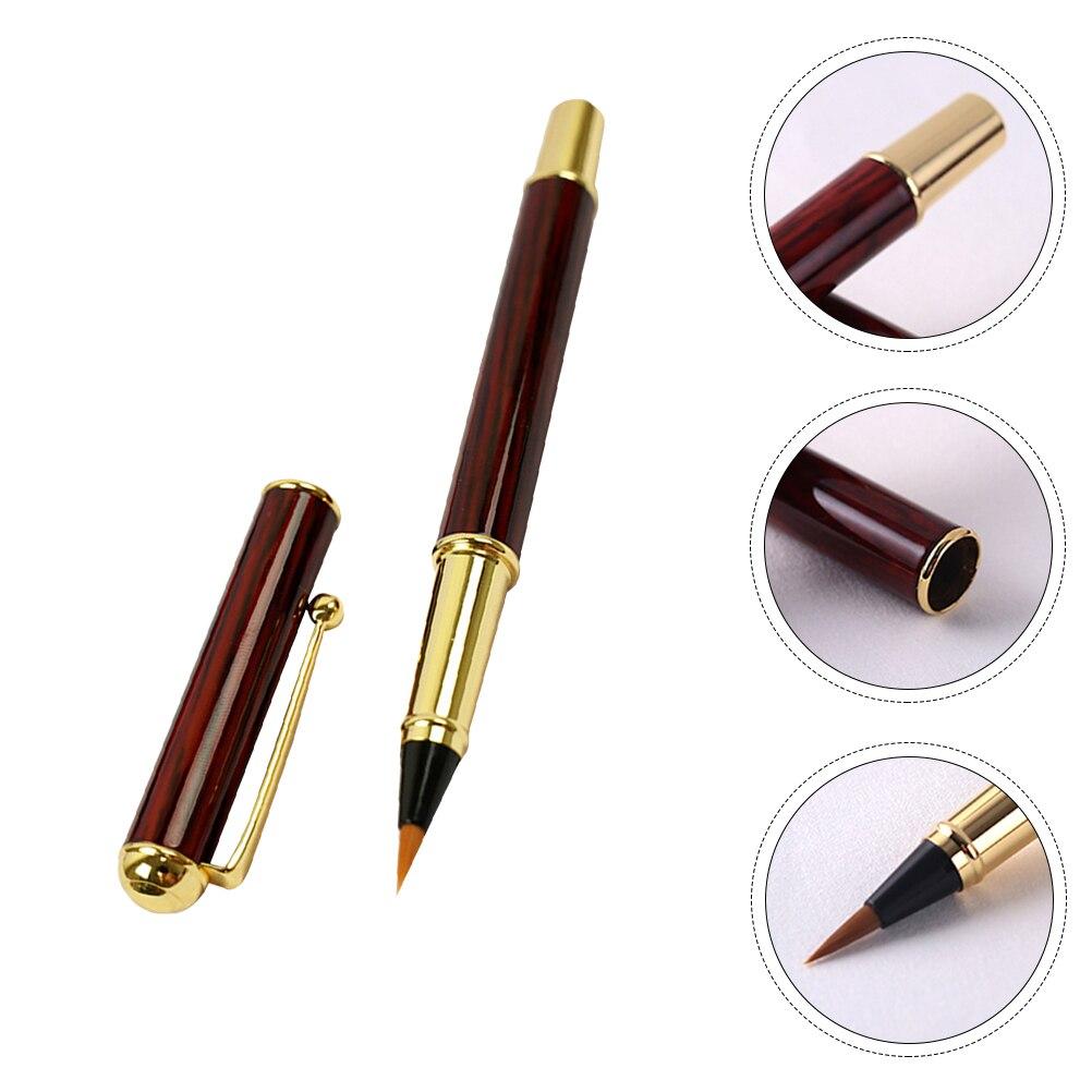 1 кисть для ПК, ручка-маркер для каллиграфии, стержневой маркер для рисования, ручка-кисточка