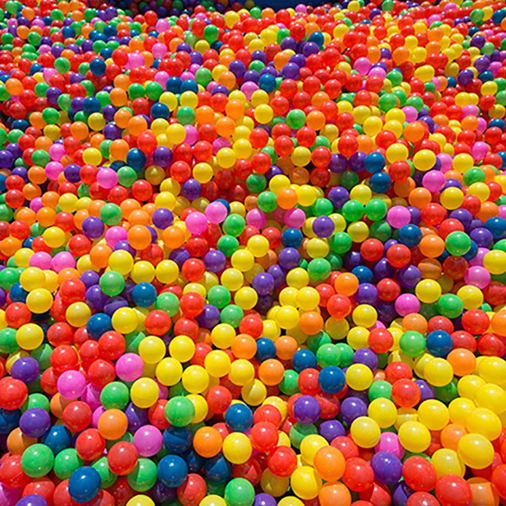 100Pcs Colorful Soft Water Pool Ocean Wave Ball Outdoor Fun Sports Baby Children Toy Amusement Park
