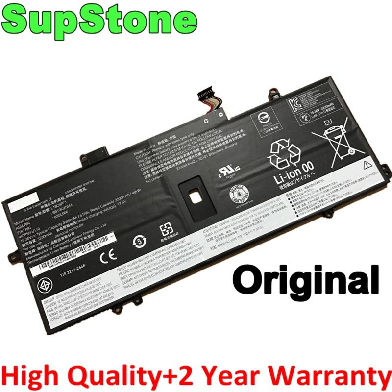 SupStone حقيقية L18M4P72 L18C4P71 L18L4P71 بطارية كمبيوتر محمول لينوفو X1 الكربون 2019 ، X1C 02DL006 SKB10K97644 02DL004 02DL005