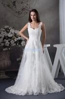 free shipping 2016 new handmade custom size bride cinderella dress white beading lace off shoulder cap sleeve wedding dresses