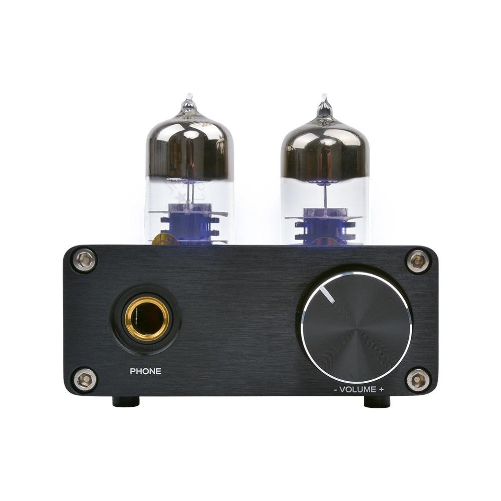 AIYIMA-Amplificador para auriculares, 6J9 preamplificador de Audio, Amplificador de tubo, decodificación USB,...