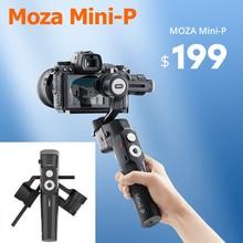 موزا Mini P 3-Axis يده مثبت الهاتف الذكي Gimbal ل Gopro عمل الكاميرا سوني vs Feiyutech G6 ماكس زائد Zhiyun M2