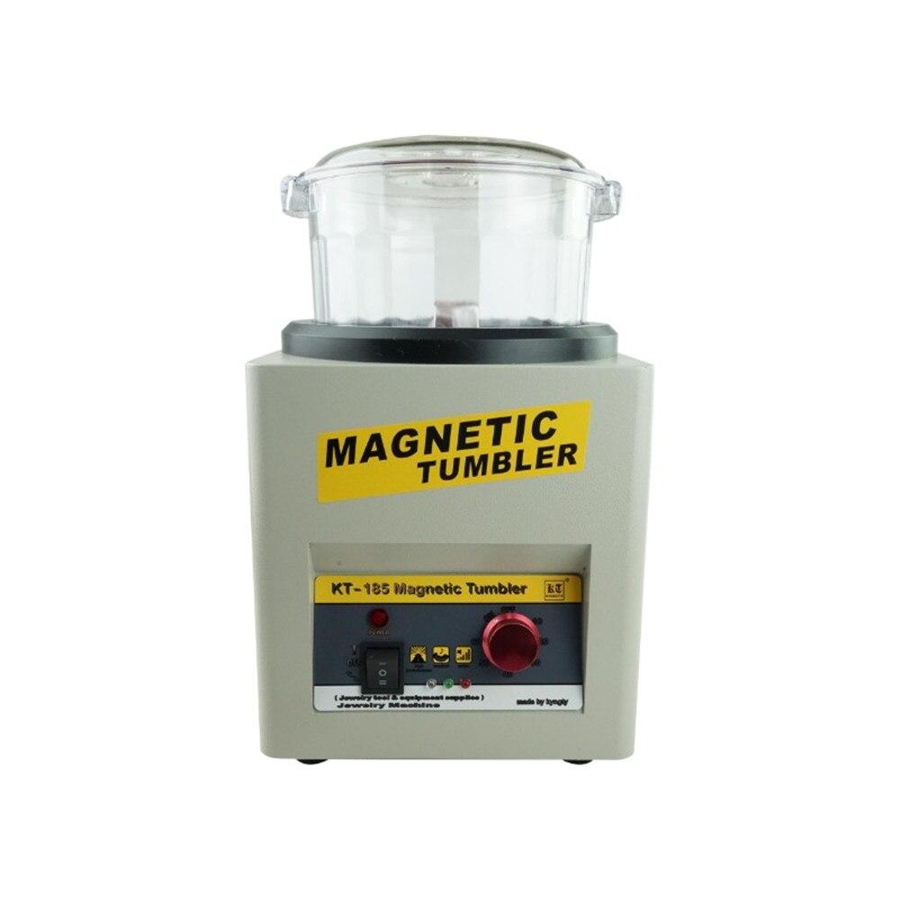 Magnetic Tumbler Jewelry Polisher jewelry tumbler Finisher Finishing Machine Magnetic Polishing Machine Goldsmith Tools
