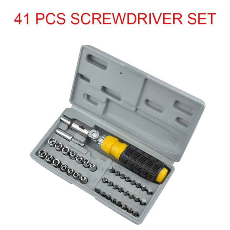Juego de destornillador 41en 1 Torx multifuncional ordenador móvil dispositivo electrónico Digital reparación mano hogar herramientas