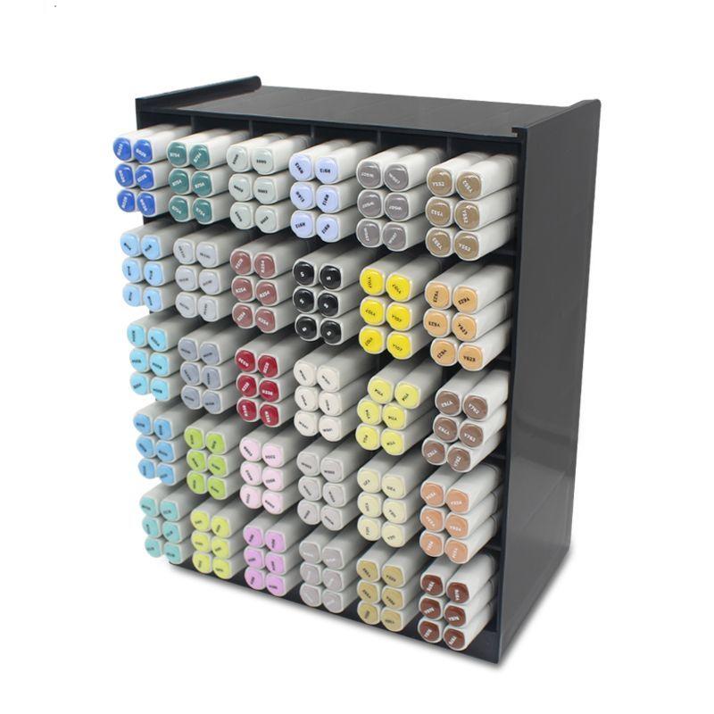 Multifunctional 9/16/30 Grid Desktop Organizer Office Accessories Stationery Pen Holder Storage Box Makeup Brush Tools Organizer