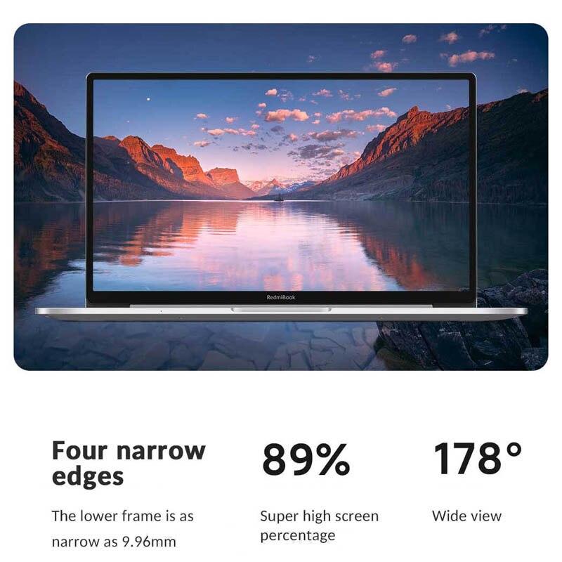 Xiaomi RedmiBook 13 Laptop Mi 13.3inch AMD Ryzen 5 4500U 8GB/16GB DDR4+512GB SSD Ultrathin Notebook Windows 10 Office Computer