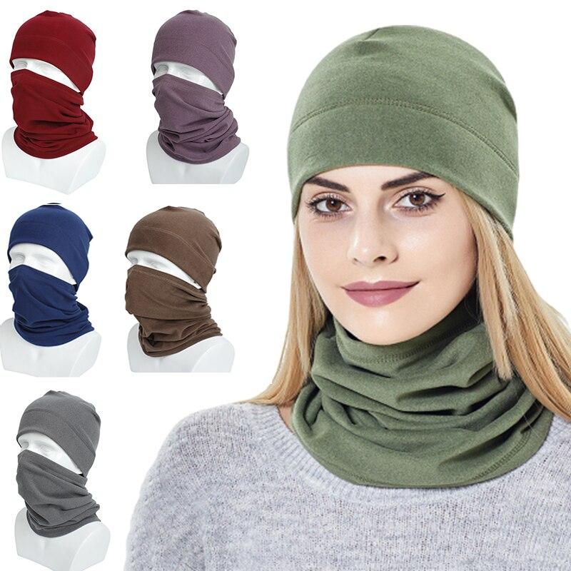 Облегающие шапки, осенне-зимняя теплая мужская и женская шапка, Шейная теплая уличная спортивная шапка для кемпинга, походов, катания на лыж...