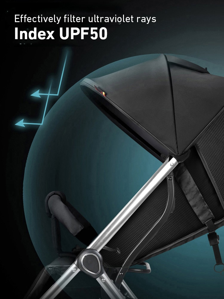 Q8 Pouch Stroller Super Light Carrying Easy Folding Stroller Baby Umbrella Car Cool Baby Four Wheelbarrow enlarge