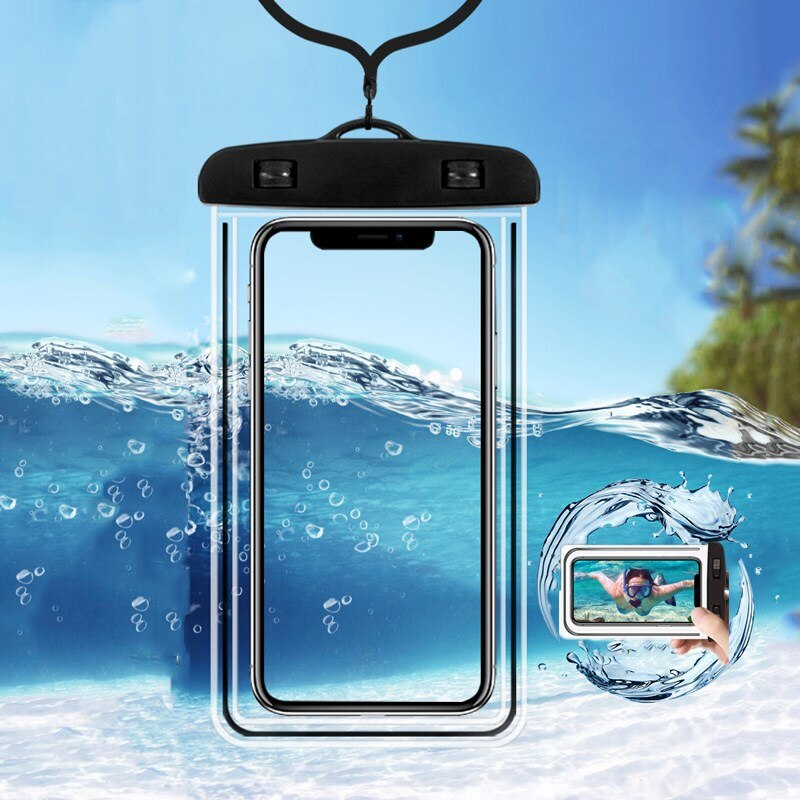 Universal Waterproof Case Mobile Phone Cover Coque Water Proof Pouch Bag For iPhone 12 11 Pro Max 8