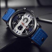 패션 남성 시계 톱 브랜드 럭셔리 쿼츠 시계 밴드 아날로그 쿼츠 라운드 손목 비즈니스 남성 시계 relogio masculino #10