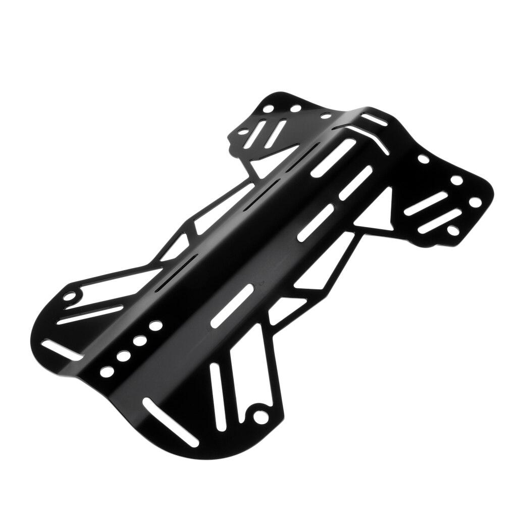 Алюминиевая Задняя панель для подводного погружения техническая пластина для дайвинга БКД задняя часть жгута оборудование для подъемный мешок