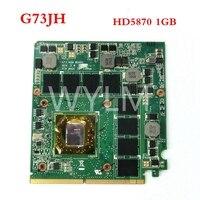 Графическая плата G73 для ASUS G73, G73J, G73JH, Laptopo, VGA, 216 МГц