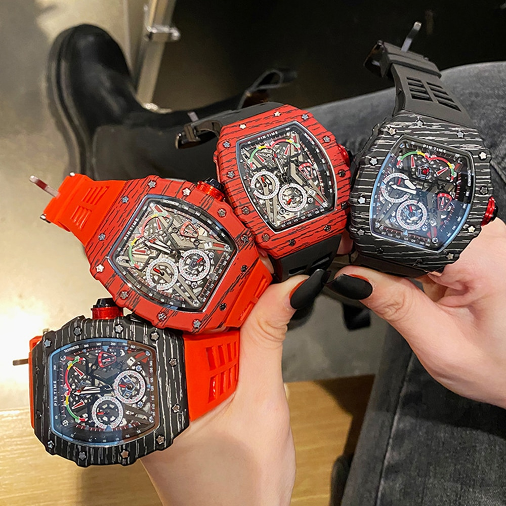 2021 Richard Luxury Quartz Watches Mens Automatic Watch Ladies watchDesigner Wrist watch Water Resistant Reloj Hombre enlarge
