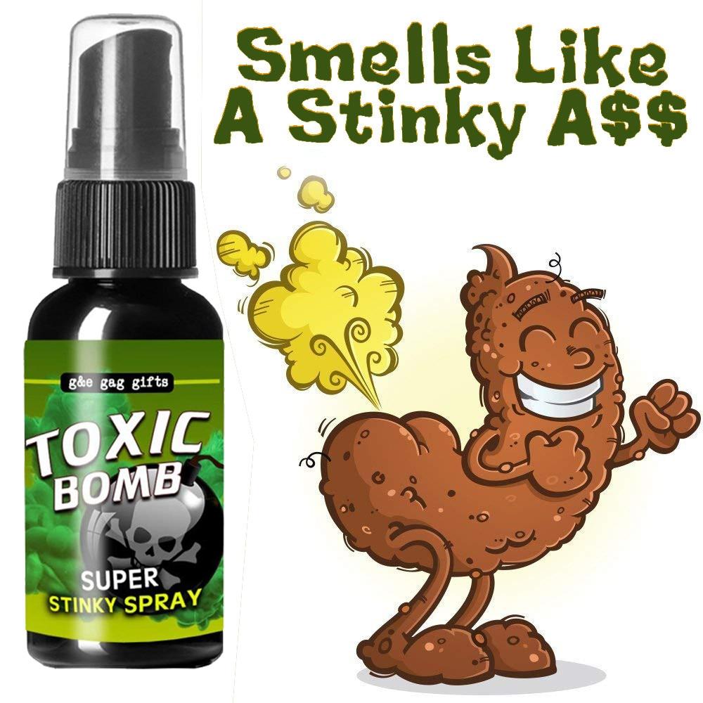 kids toys Novelties Liquid Fart Gag Prank Joke Spray Can Stink Bomb Smelly Stinky Gas Crap juguetes toys for children gifts#CN28