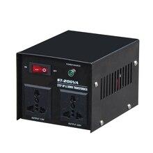 ST-1500W Home-use Step Up Down Transformer Household Electrical Voltage Converter Use Use 1500W 220V-110V/110V-220V