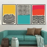 canvas painting modern abstract ocean canvas print wall art picture for living room nordic home decor decoration frameless