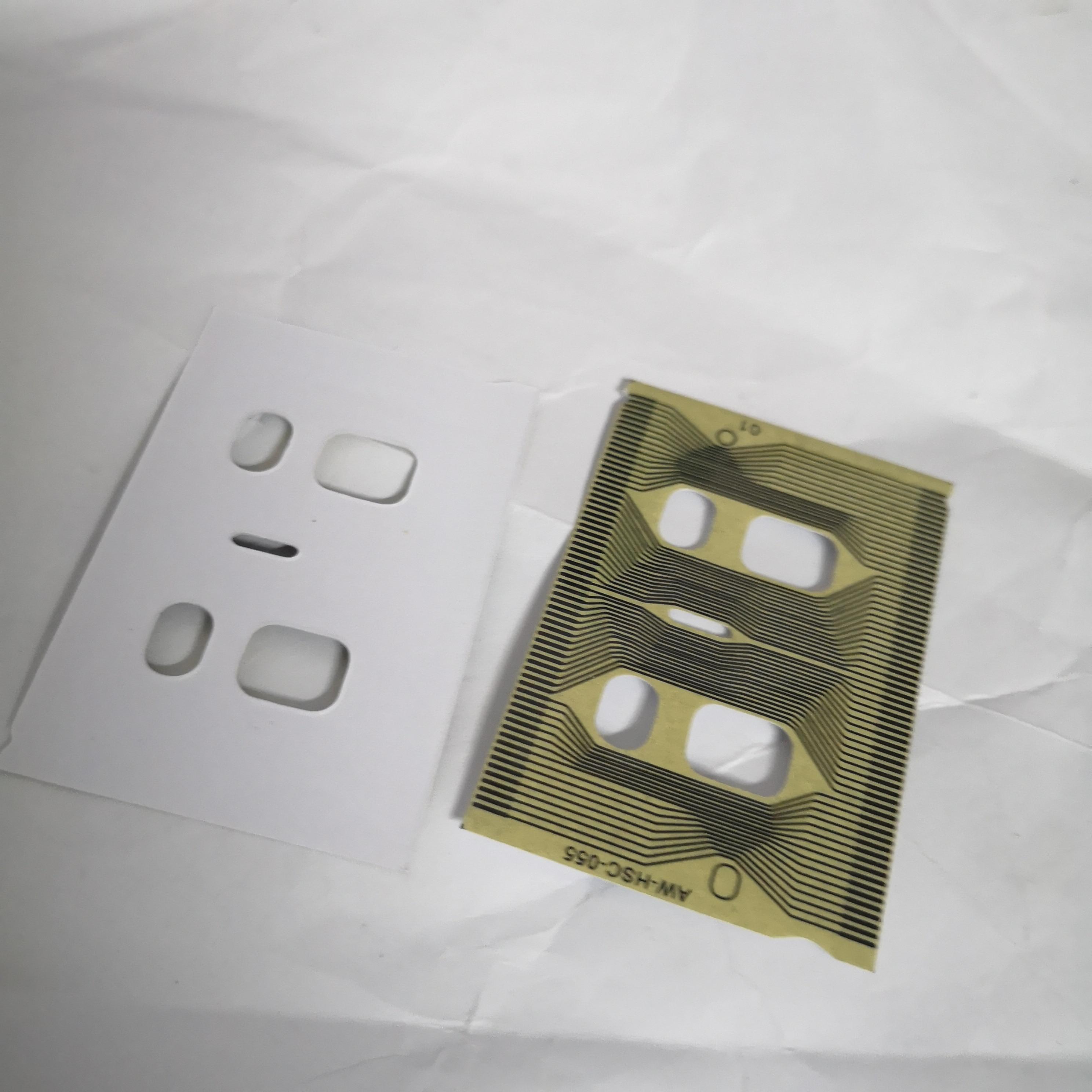 Cnpam cabo de fita conector lcd plano para audi a3 a4 a6 c5 vdo instrumento cluster pixel reparação