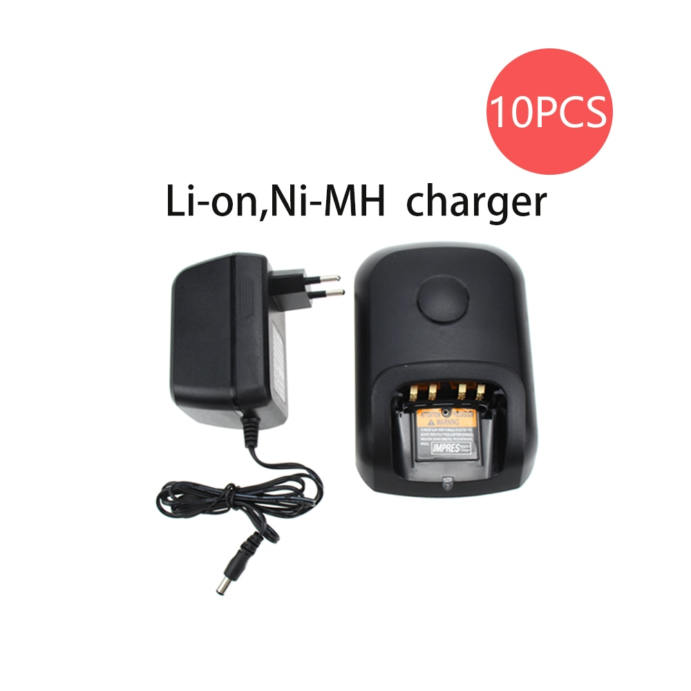 10Pcs Battery Desktop Rapid Charger Compatible for Motorola  XPR6300 XPR6350 PR6380 XPR6500 XPR6550 XPR6580 XTR8300