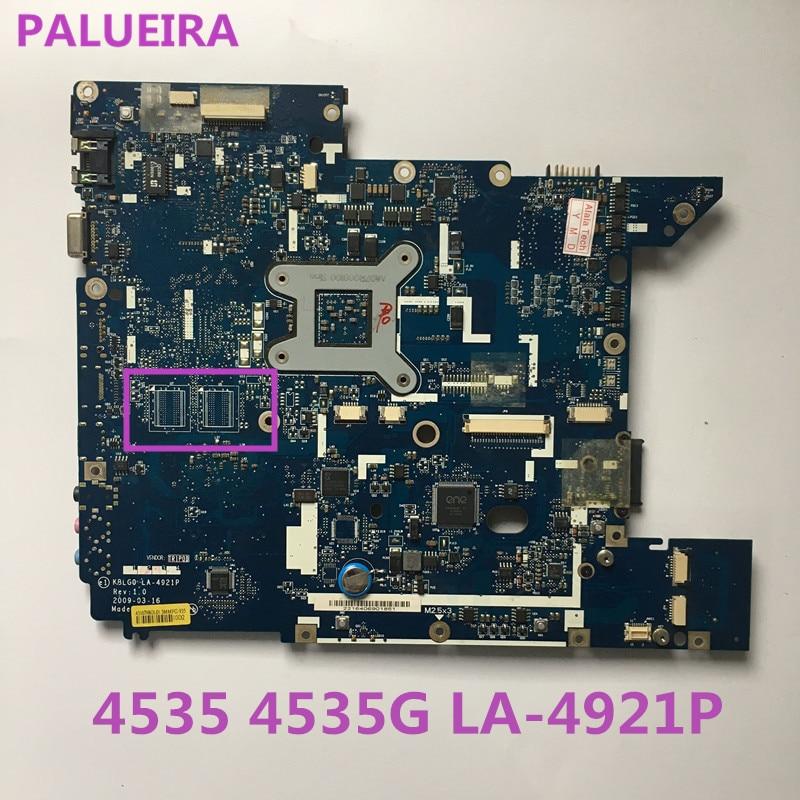PALUBEIRA de alta calidad MB PBE02.001 MBPBE02001 para Acer Aspire 4535 a 4535G de la placa base KBLG0 LA-4921P totalmente