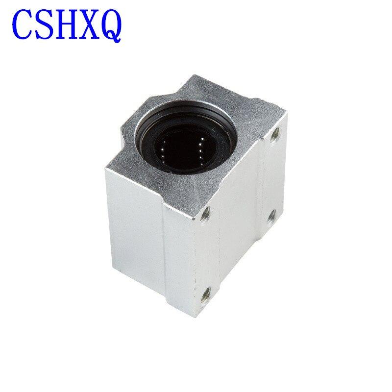 خطية تحمل 4 قطعة SCS20UU 20 مللي متر الخطي اضعا الكرة الشريحة وحدة 20 مللي متر الخطي تحمل كتلة ل CNC راوتر 3D طابعة أجزاء