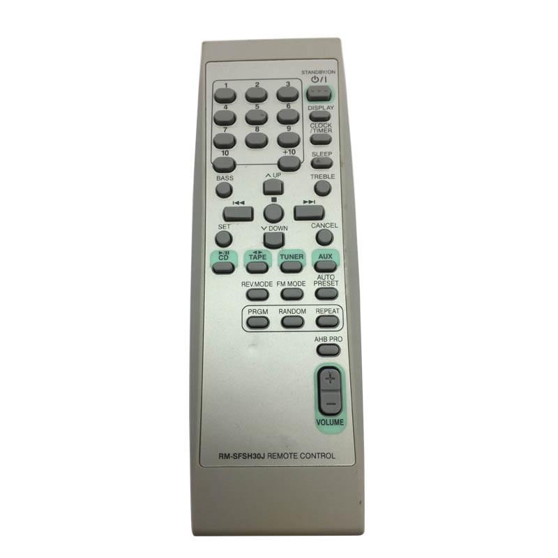 secondhand Original Remote Control RM-SFSH30J for JVC UX-H33 H35 CA-FSX3 FS-SD5 FSSD9  AUDIO VIDEO Remote Controller telecomando