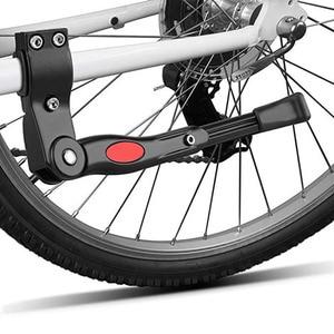 1Pcs Black/White Adjustable MTB Road Bicycle Kickstand Parking Rack Mountain Bike Support Side Kick Stand Foot Brace