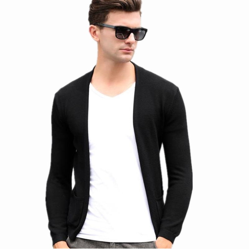 Otoño 2020 nuevo superventas de moda Coreana de los hombres Casual suéter holgado de lana ropa Casaco Masculino Erkek Giyim Truien Kleding