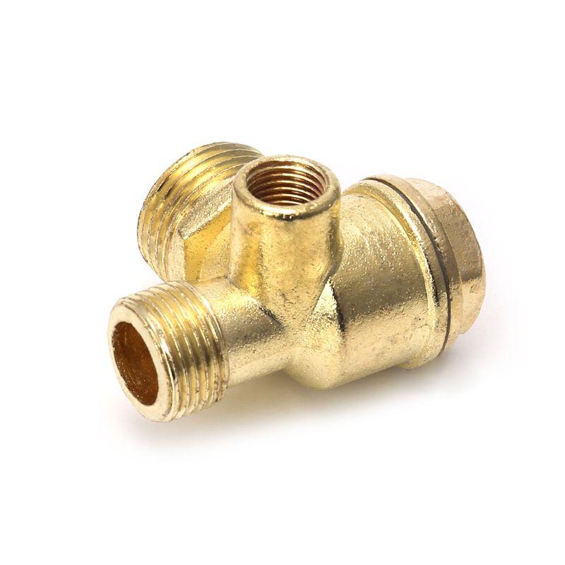 P15D зарядное устройство с 3 usb-портами из цинкового сплава, цинковый сплав Воздушный компрессор обратный клапан центральной пневматические к...