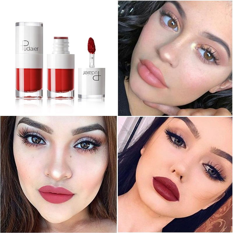 купить Waterproof Liquid Lip Gloss Metallic Matte Lipstick for Lips Cosmetic Sexy Red Nude Mate Lip Tint Makeup Long Lasting Lipgloss в интернет-магазине