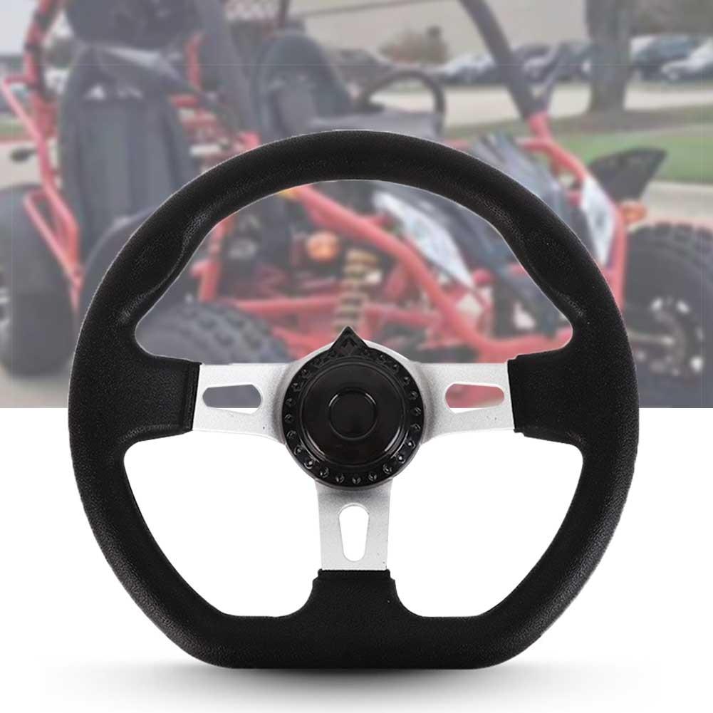 REPUESTO Universal de coche con agujeros de 270mm, resistente, clásico, para Go Kart, 3 radios, accesorios de espuma de PU