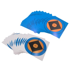100pcs Reactive Shooting Targets Gun Range Paster Bow Archery Target Hunting Targets Accessories for Shooting Training Practice