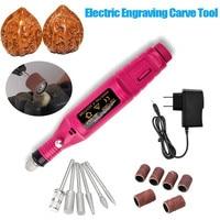 15pcs DIY Electric Engrave Pen Carve Tool Engraving Pencil Fit For Jewelry Metal Glass Mini Electric Sander U.S. Regulations