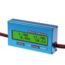 Moniteur numérique LCD Watt mètre 60V/100A ampèremètre cc haute précision RC batterie amplificateur analyseur outil puissance énergie Watt mètre