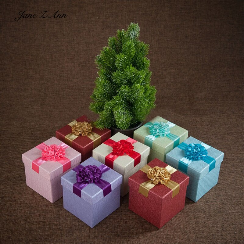 Мини-подарочная коробка Jane Z Ann для фотосъемки новорожденных на Рождество и день рождения, 10x10x10cm