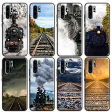Scenic Railroad Train rail For Huawei P30 Pro P40 P20 Lite Mate 20 Lite TPU Case For Huawei P Smart