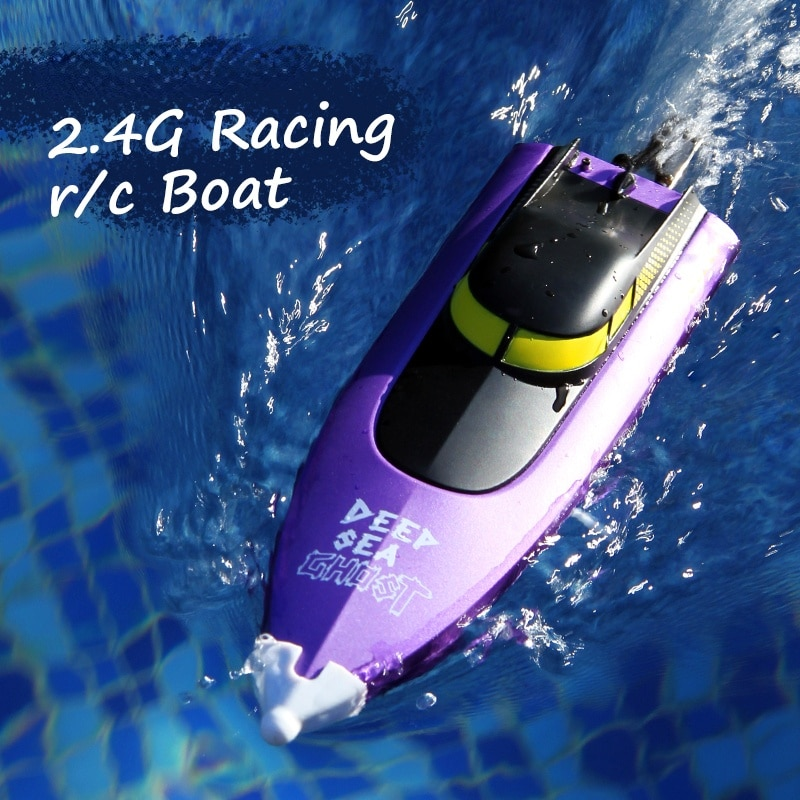 RC Boat 2.4G Full Frequency High Speed Shark Boat 150 Meters Remote Control Distance Children's Toy Game Remote Control Boat enlarge