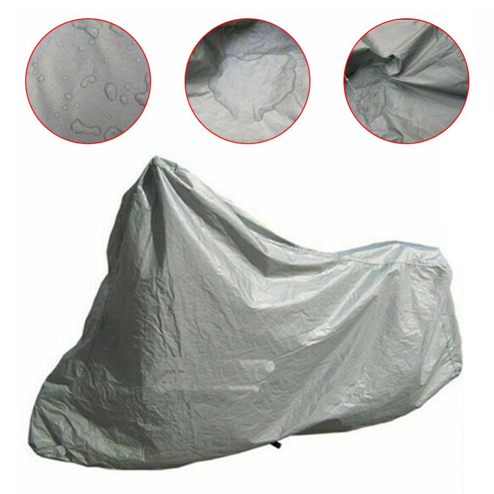 Rainproof Waterproof Motorcycle Cover Foldable Scooter Electric Bicycle Snow UV Anti Dust Shell Outdoor Protective Indoor