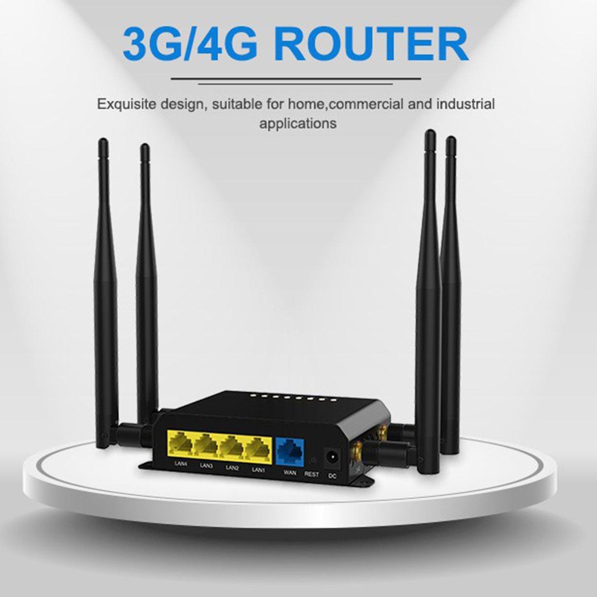 4G LTE OpenWRT Smart Router Extender High Power SIM Card WiFi Wireless External 5dbi Antenna enlarge