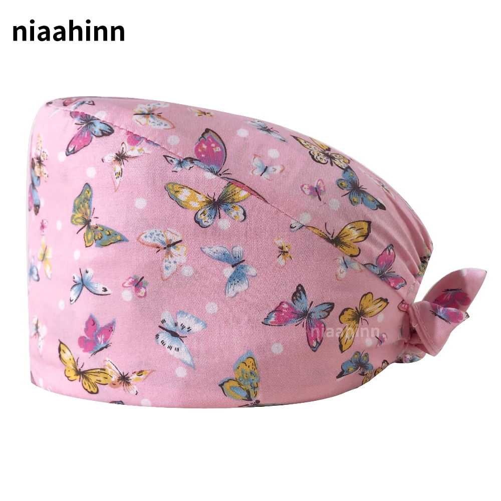 Hospital Surgical Hat Medical Caps Unisex Doctor Operating Room Hats Dentistry Beauty Work Hat Pet Doctor Cap Nurse Accessories