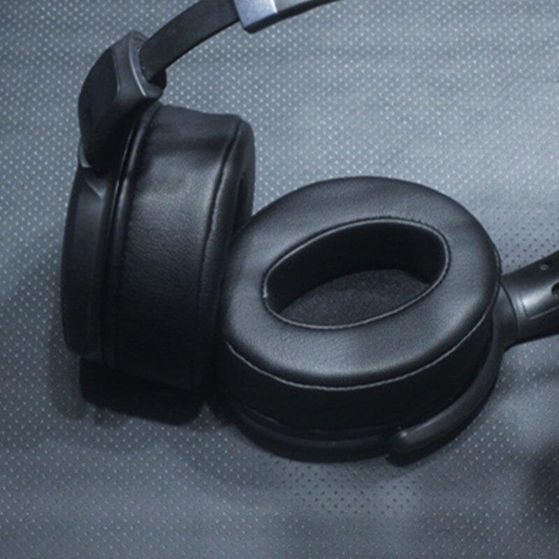 [해외] 젠하이저 모멘텀 1.0 2.0 HD4.30 4.40BT 4.50BTNC 헤드폰 이어 쿠션 메모리 폼 교체 양피 90X70MM 이어패드
