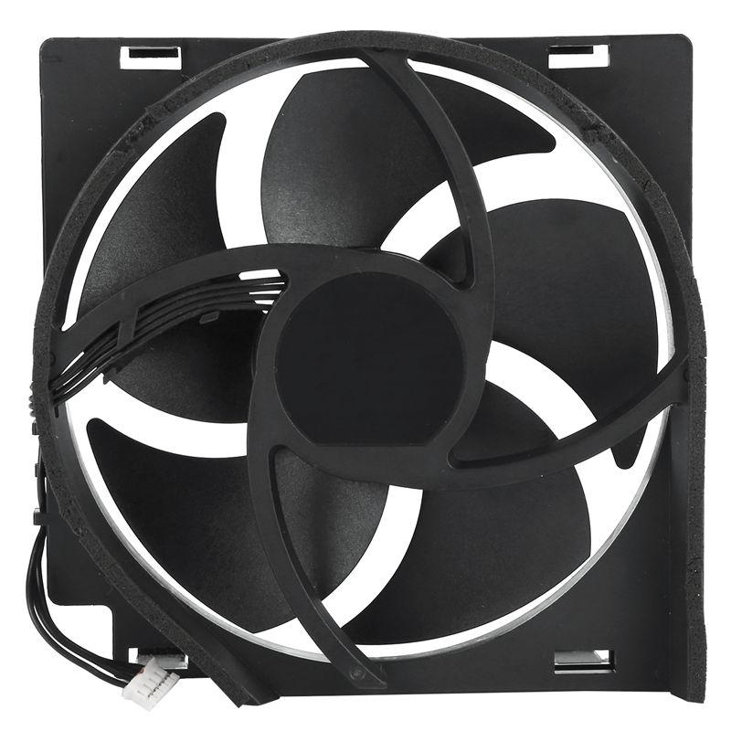 CPU Cooler Fans Replacement Fan 5 Blades 4 Pin Connector Cooling For  ONE S